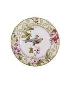 Prato De Sobremesa 21Cm Alleanza - Flat Aves