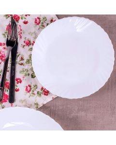 Prato de Sobremesa Marabella 19cm Solecasa - Branco