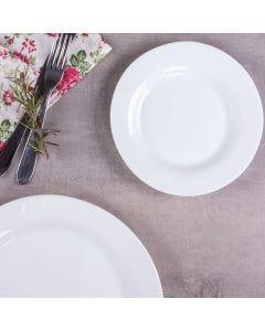 Prato de Sobremesa Menu Nadir Figueiredo - Opaline