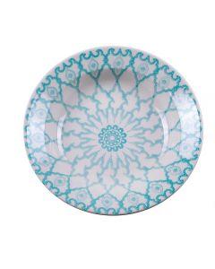 Prato Fundo 22Cm Donna Mandala - Cerâmica