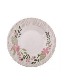 Prato Fundo Biona Floralina 22Cm Oxford - Cerâmica