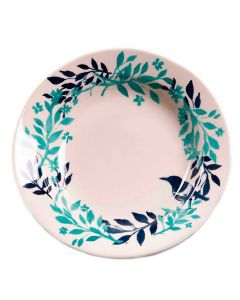 Prato Fundo de Cerâmica Blue Bird 22cm - Biona - DIVERSOS
