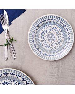 Prato para Sobremesa 19cm Donna Oxford - Azul