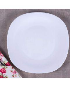 Prato para Sobremesa 27,8cm Quadrado Santorini Havan - Opaline