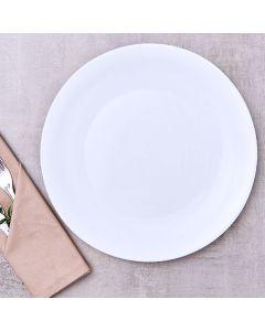 Prato Raso 27cm Milão Havan - Branco