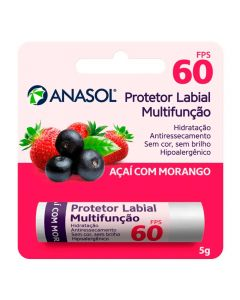 Protetor Labial FPS 60 5g - Acai com Morango