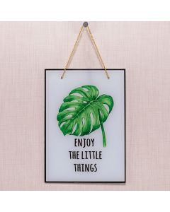 Quadro Enjoy The Litte Things 20x28 Havan - Vidro
