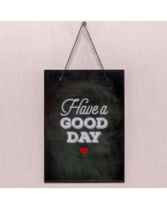 Quadro Have A Good Day 20x28 Havan - Vidro