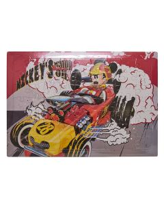 Quebra Cabeça Mickey DY-397 - Vermelho