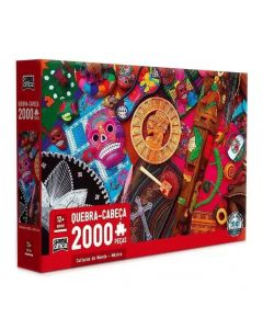 Quebra-Cabeça 2000 Peças Culturas Do Mundo Toyster - 2713