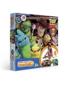 Quebra-Cabeça 48 Peças  Toy Story 4 Toyster - 2627 - Azul