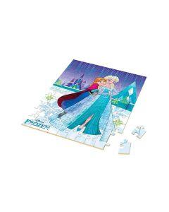 Quebra-cabeça Frozen Disney 100 Peças Xalingo - AZUL