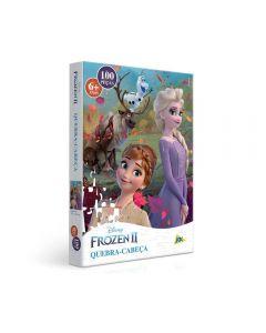 Quebra-Cabeça Frozen II 100 Peças Toyster - 2654 - Colorido