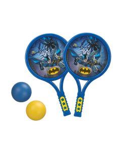 Raquete Com 2 Bolinhas Batman 836818 Art Brink - Azul