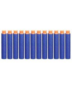 Refil 12 Dardos Sucção Nerf N-Strike A5334 Hasbro - Azul