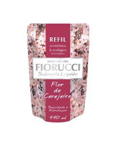 Refil De Sabonete Líquido 440Ml Fiorucci - Flor de Cerejeira