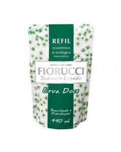 Refil De Sabonete Líquido 440Ml Fiorucci - Erva Doce