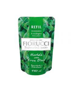 Refil De Sabonete Líquido 440Ml Fiorucci - Hortela