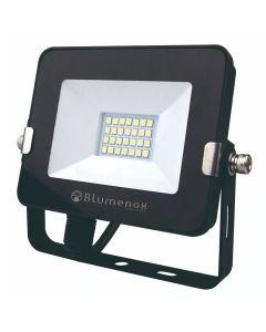 Refletor LED 10W Preto 6500K Blumenox