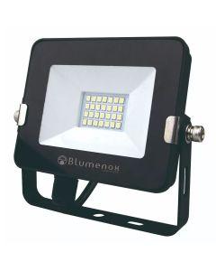 Refletor LED 20W Preto 6500K Blumenox
