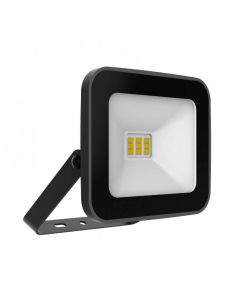 Refletor Led Tr Slim 10W Preto Taschibra - 6500K