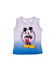 Regata de Bebê Degradê Mickey Mouse Disney Mescla Claro