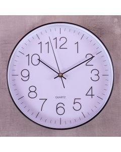 Relógio de Parede New York 30cm Finecasa - Preto