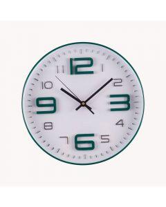 Relógio de Parede 30x4cm Solecasa - Verde