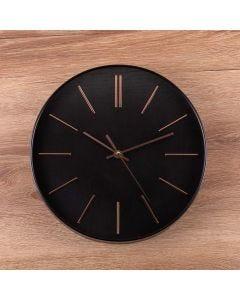 Relógio de Parede Austrália 30cm Solecasa - Preto