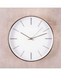 Relógio de Parede Branco 30,5x4,2cm Havan - Plastico