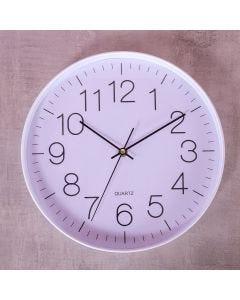 Relógio de Parede New York 30cm Finecasa - Branco