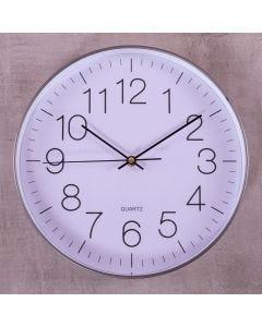 Relógio de Parede New York 30cm Finecasa - Cinza