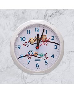 Relógio de Parede Quartz Sulclock - Branco
