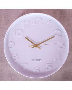 Relógio de Parede Sidney 30cm Finecasa - Branco