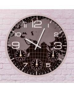 Relógio de Parede Sidney Solecasa - Preto