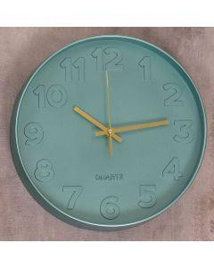 Relógio de Parede Sydney 30cm Finecasa - Verde
