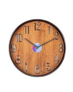 Relógio De Parede Toronto 30,5X4,5Cm Solecasa - Marrom