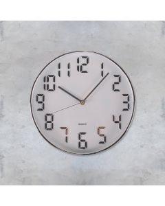 Relógio de Parede 30x4,3cm Concepts Life - Cinza
