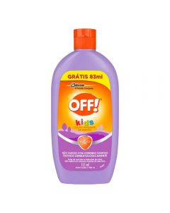 Repelente Kids 200Ml Off - Incolor