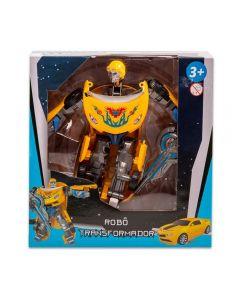 Robô Transformer Havan - HBR0037 - Amarelo