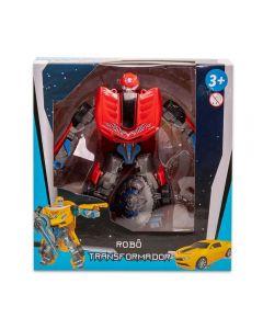 Robô Transformer Havan - HBR0037 - Vermelho
