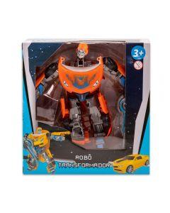Robô Transformer Havan - HBR0037 - Laranja