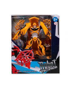 Robô Transformer Havan - HBR0038 - Amarelo Escuro