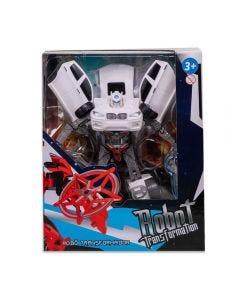 Robô Transformer Havan - HBR0038 - Branco