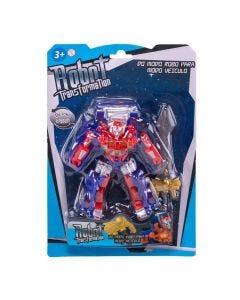 Robô Transformer Havan - HBR0100 - Vermelho
