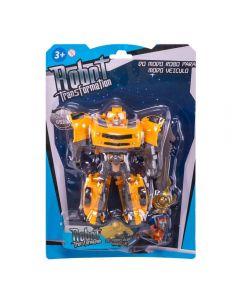 Robô Transformer Havan - HBR0100 - Amarelo