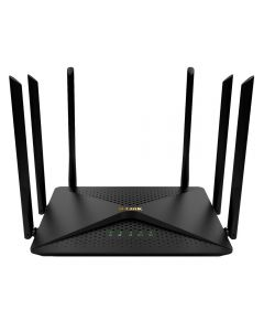 Roteador Wireless Gigabit AC1200 DIR-846 D-Link - Preto