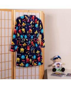 Roupão Infantil Microfibra Tamanho P Yoyo Kids - Monsters