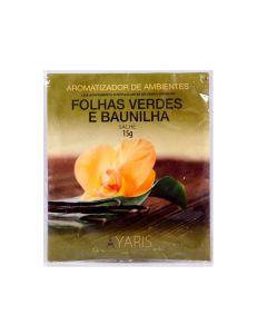 Sachê Aromatizante 15g Yaris - Folhas Verdes e Vanila
