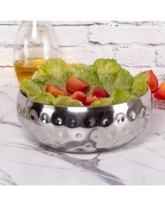 Saladeira Gourmet 23,5cm Prisma Havan - Inox